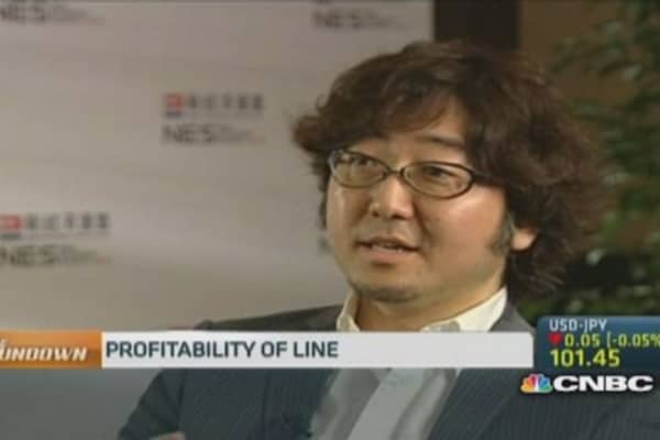 Line: Hopeful about expansions in US and China