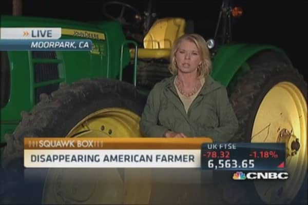 US government courts new farmers