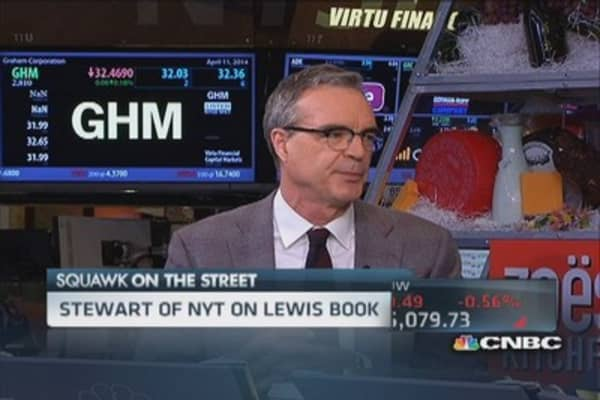 NYT's Stewart: 'Flash Boys' was disappointing