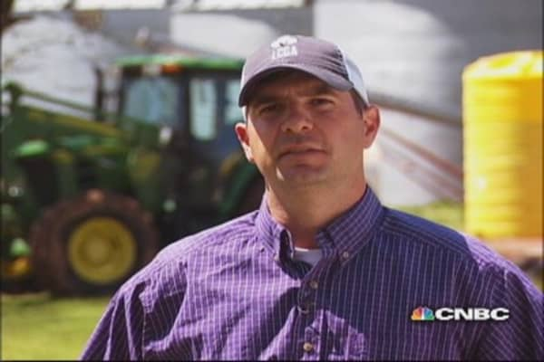 Petroleum engineer continues farming tradition
