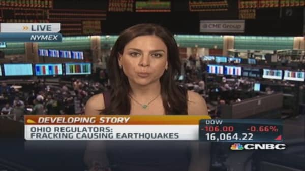 Ohio regulators: Fracking causing earthquakes