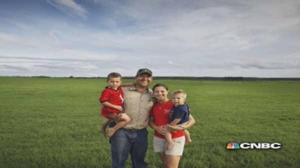 Farming is hard work, but it's 'cool again': Farmer