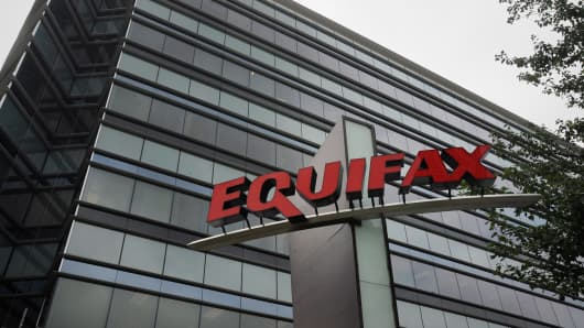 Equifax building in Atlanta.
