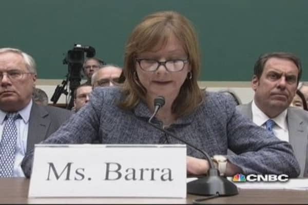 GM's Barra testifies she 'acted without hesitation' on ignition issue