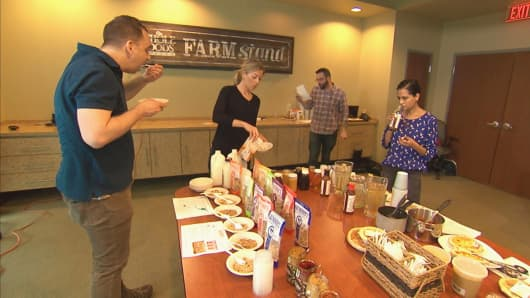 Whole Foods Market does multiple tastings before new food products hit shelves.