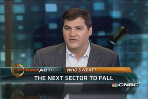 What's the next sector to fall?