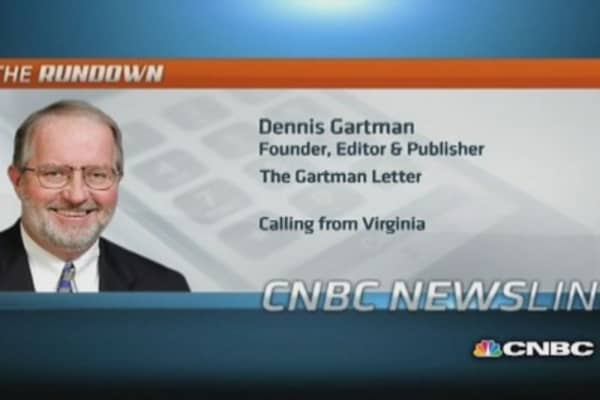Why Gartman is staying on the sidelines