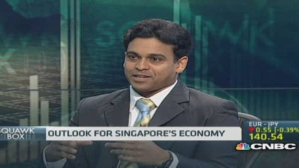 Services weigh on Singapore Q1 GDP: Mizuho Bank