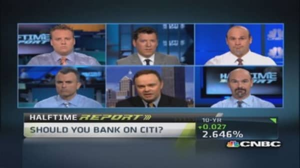 Waiting for 'all clear' from Fed on Citigroup