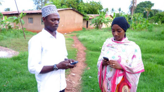 First Access, a US-based start-up, buys real-time user data from mobile phone carriers to help people in Tanzania get access to small amounts of credit.