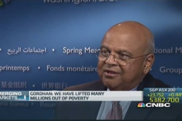 We've lifted millions out of poverty: South Africa Fin Min