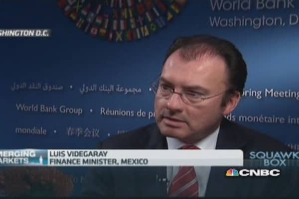 Mexico, US need to 'collaborate' on drug cartels: Fin Min