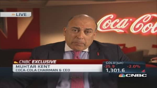 KO's CEO: We are getting our momentum back