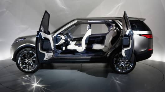 Land Rover Virgin Galactic Create Space Age Suv