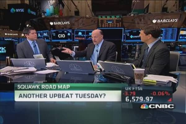 Cramer: Paying up when market rolled over 'true sin'
