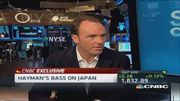 Kyle Bass: Japanese bonds look 'terrible'