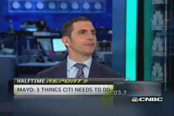 Mike Mayo: 'Definite buyer of Citi here'
