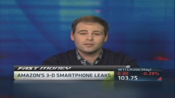 Amazon's 3-D phone a 'gimmick': Pro