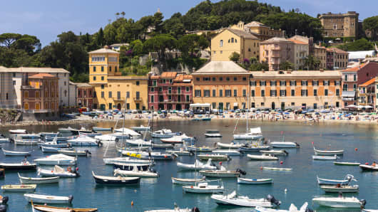 Luxury homes in Baia del Silenzio, Liguria, Italy, Liguria,