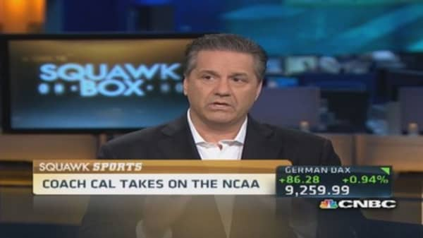Fixing the NCAA: Coach Calipari