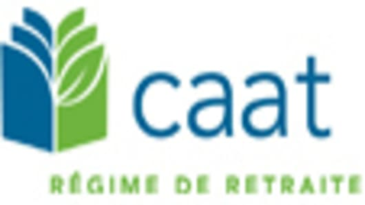 CAAT Pension Plan French logo