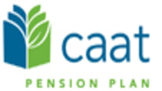 CAAT Pension Plan English logo