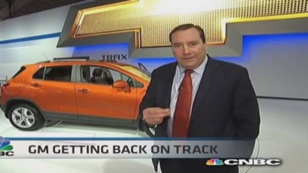 GM reveals new models in NYC
