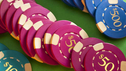 Casino chips gambling