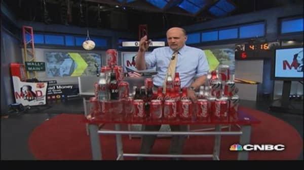 Coca-Cola about cash management: Cramer