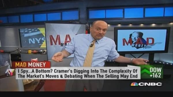 Bottoms not always easy to spot: Cramer