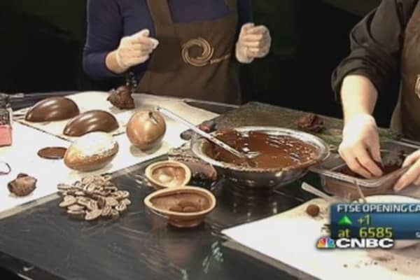 CNBC anchors get hands dirty for Easter