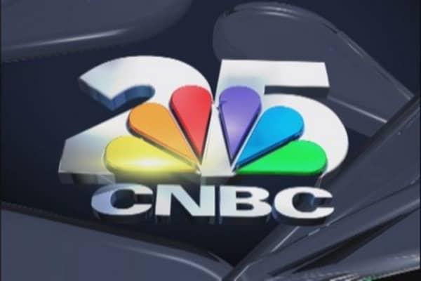 Happy 25th birthday CNBC!