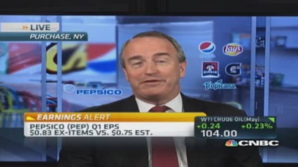 PepsiCo's reports strong Q1 beat