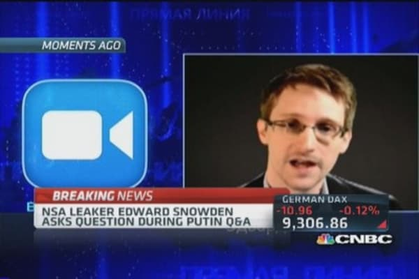 Snowden sighting