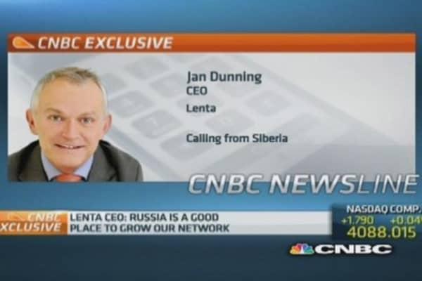Ukraine has no impact on Lenta: CEO
