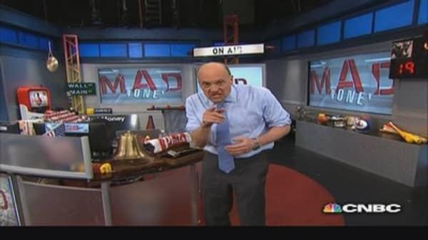 One's man trash, another man's treasure: Cramer