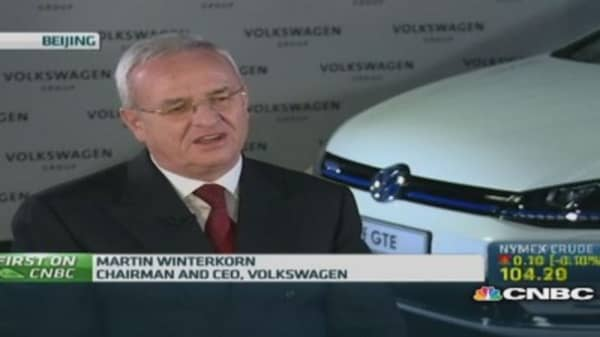 Volkswagen: Pushing for electrification in China