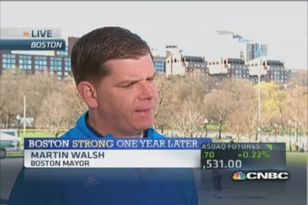 Boston mayor on marathon security