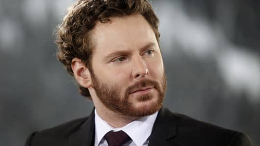 Sean Parker, co-founder of Napster Inc. and managing partner of the Founders Fund.