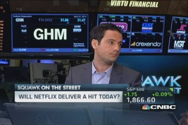 Will Netflix earnings be a hit?