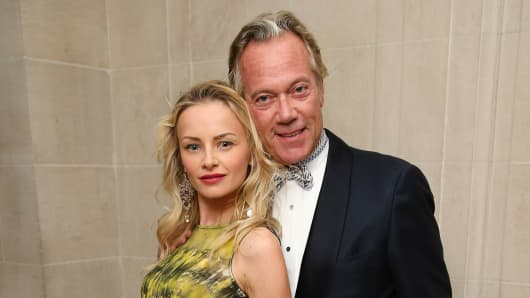 Karolina Albertson and Robert Albertson