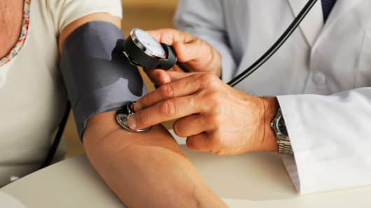 Medicine doctor blood pressure