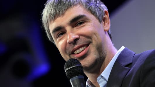Google's Larry Page