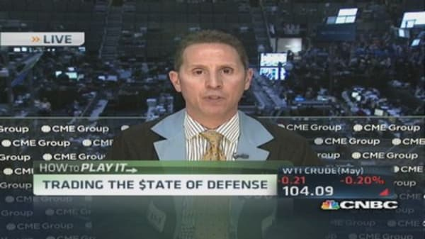 Macro story for defense stocks: Pro