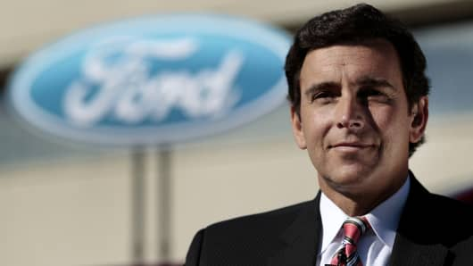 Mark Fields expected to be named the next CEO of Ford Motor.