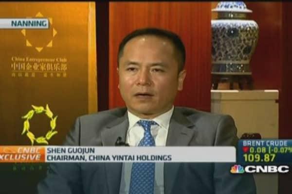 China Yintai: We share similar goals with Alibaba