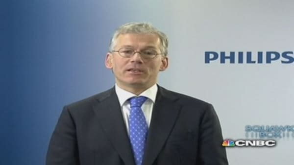 Europe has bottomed out: Philips CEO