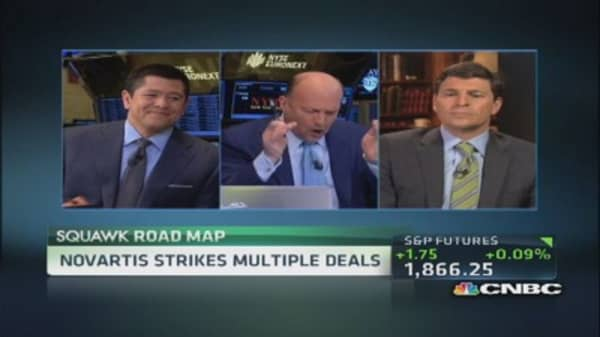 Novartis strikes multiple deals