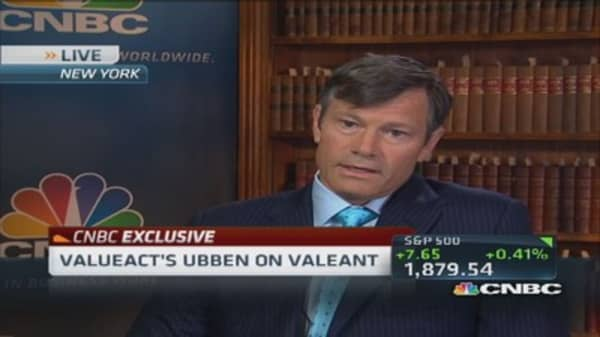 Allergan, Valeant perfect match: CEO