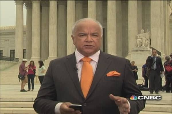 Supreme  Court conflicted on legality of Aereo